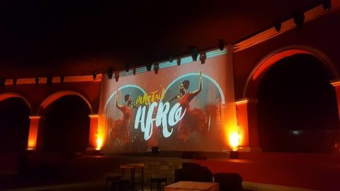 Inretail Afro – Video Mapping en portales.
